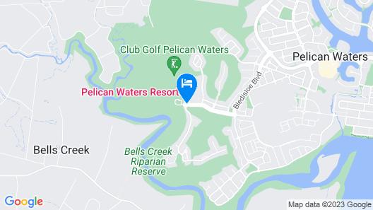 Pelican Waters Resort Map
