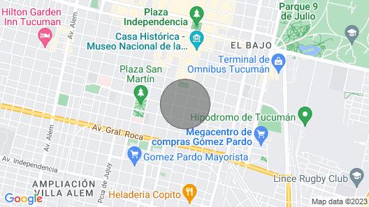 Monoambiente Dividido Zona Céntrica Map