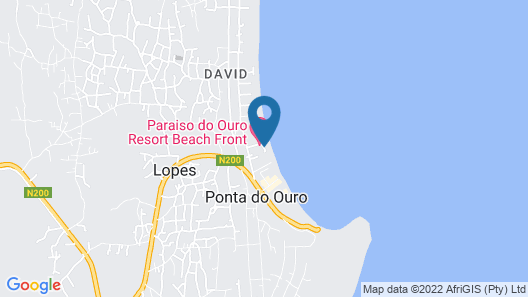 Paraiso do Ouro Resort Map