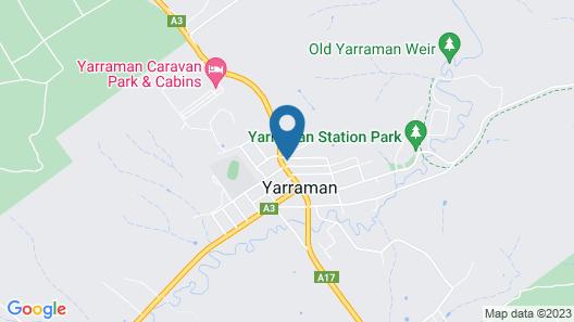 Yarraman Gardens Motel Queensland Map