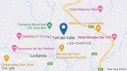 Hostería ACA Tafí del Valle Map