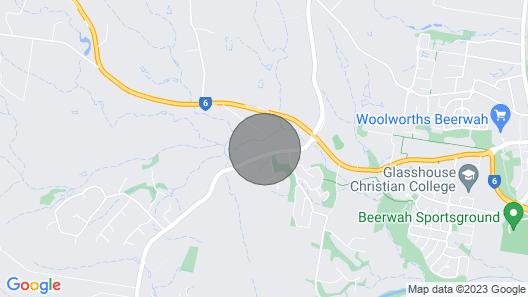 Renovated Queenslander In Beautiful Beerwah Map