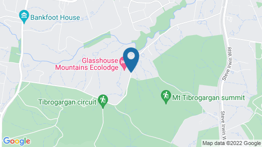 Glass House Mountains Ecolodge Map