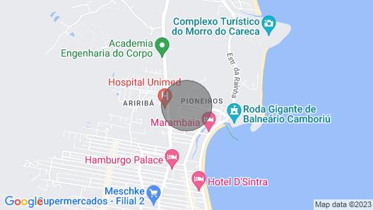 House nearby SEA with pool in Balneário Camboriú  Map