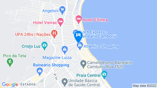Hotel Marimar The Place Map