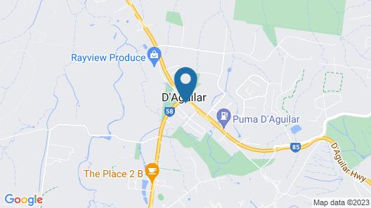 D'Aguilar Hotel Motel Map