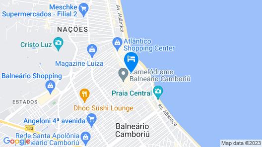 Hotel Sibara Flat & Convenções Map