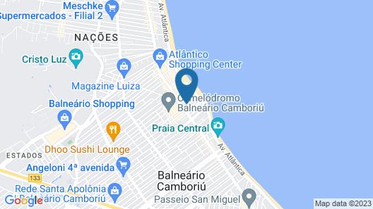 Sandri City Hotel Map