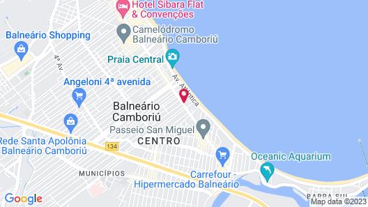 Apart. Edifício Republica Argentina Map