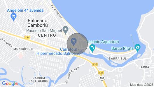 Apartamento Vila Real Retrô Map