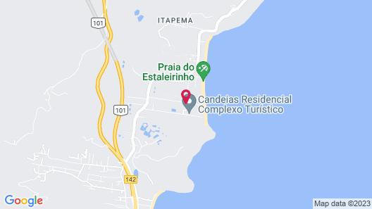 Paraíso do Estaleirinho - Baln Camboriú Map