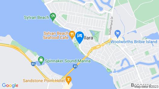 Bribie Island Hotel Map