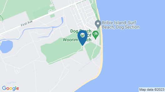 Fairways Golf & Beach Retreat Map