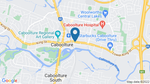 Caboolture Motel Map