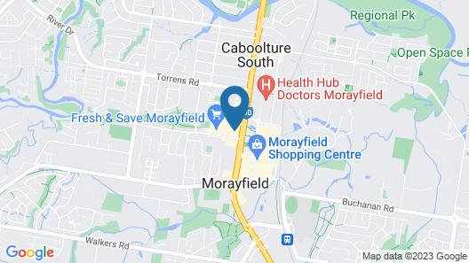 Morayfield Tavern & Motel Map