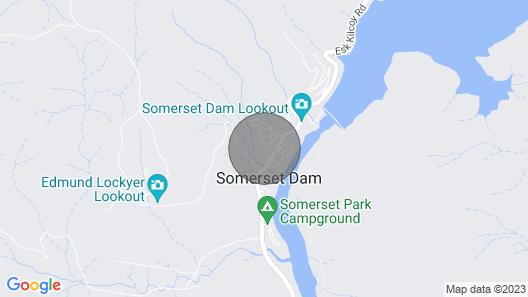 The Church Somerset Dam Map