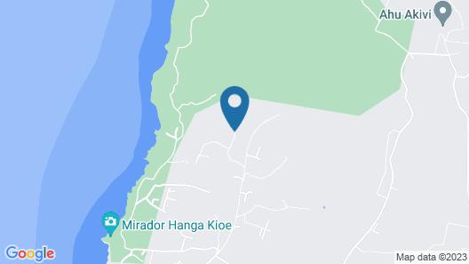 Altiplanico Isla de Pascua Map