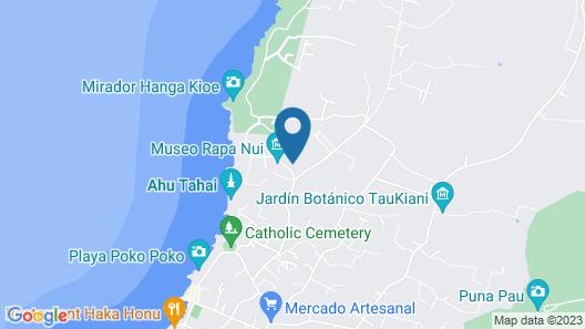 Hotel Tekarera Map