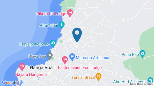 Hostal Pumakari - Hostel Map