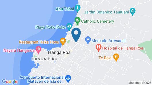 Hotel Manavai Map