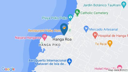 Te Ngahu Bungalows Map