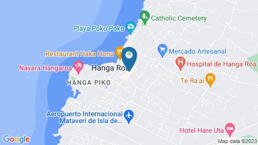 Hotel Orongo Map