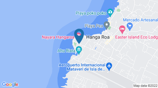 Nayara Hangaroa Map