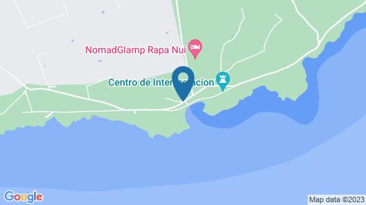 Lemu Lodge Vaihu Map