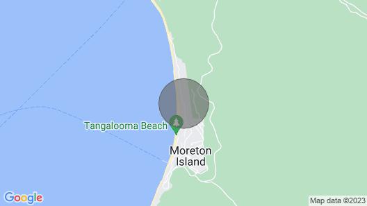 Villa 31 at Tangalooma Resort Moreton Island Map