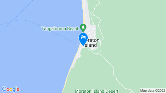 Tangalooma Island Resort Map