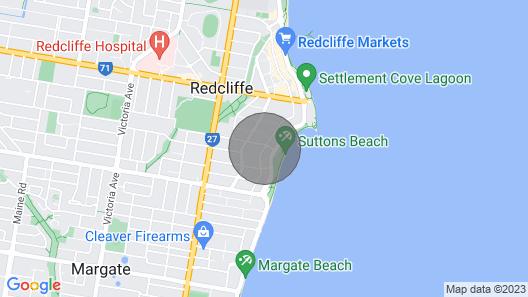 Arena on Sydney - 7a 1 Bed Studio Map