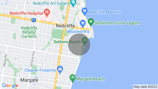 Suttons Beach Apartments - 2 Bedroom - Arena Map