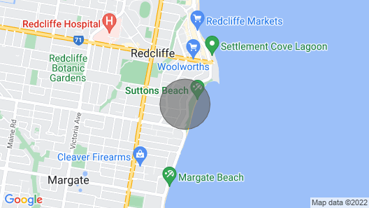 Beach House on Suttons 6/41 Marine Pde Map