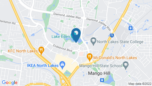 Best Western Plus North Lakes Hotel Map