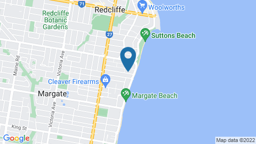 Margate House Boutique Bed & Breakfast Map