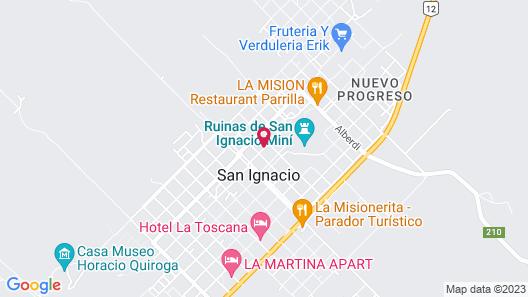 Montes Hostería & Bar Café Map