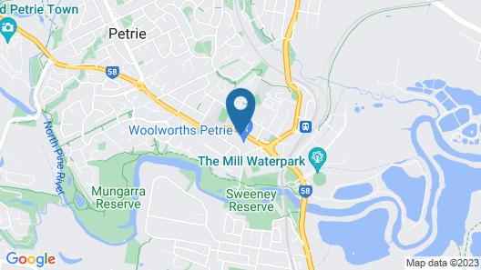 Petrie Mill Motel Map