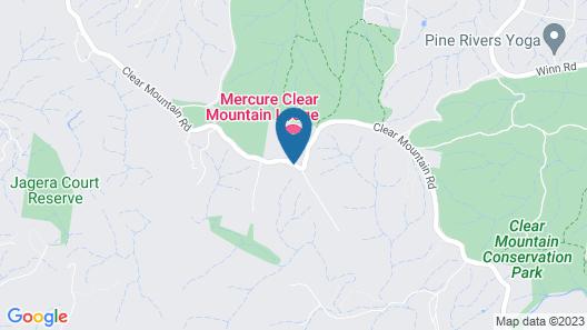 Mercure Clear Mountain Lodge Map