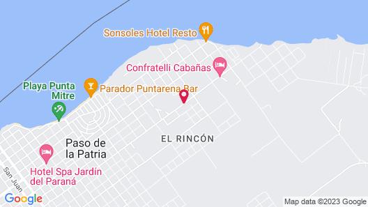 Complejo Punta Iglesia Map