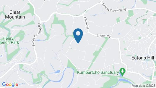 Eatons Hill Retreat Map