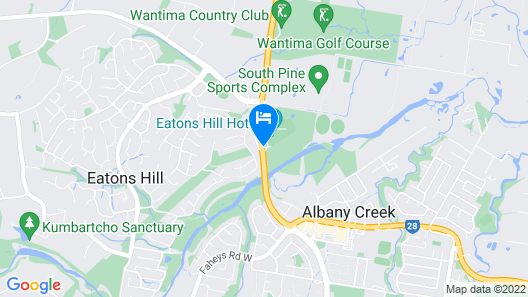 Eatons Hill Hotel Map