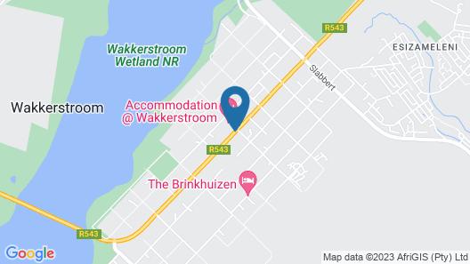 Wakkerstroom Country Inn Map