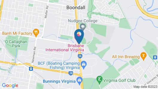Brisbane International - Virginia Map