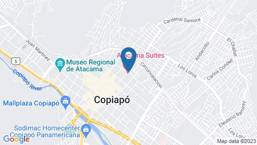 Hotel Atacama Suites Map
