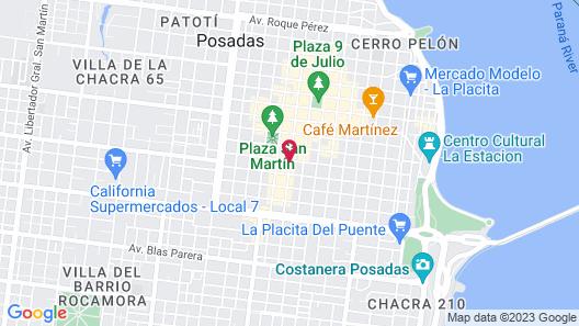 Grand Crucero Posadas Express Map