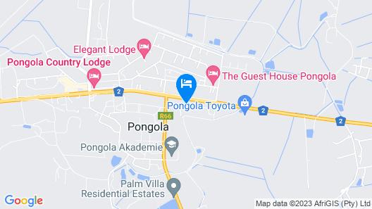 Shayamoya Tiger Fishing and Game Lodge Map