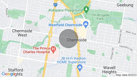 Guest House on Hamilton Map