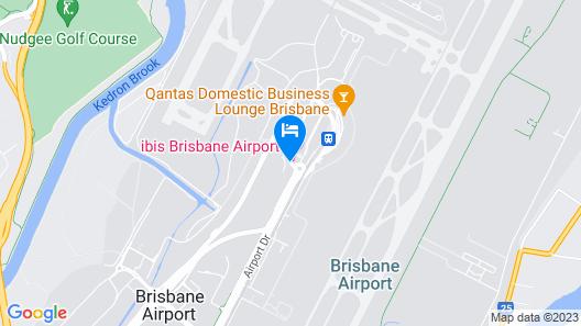 Pullman Brisbane Airport Map