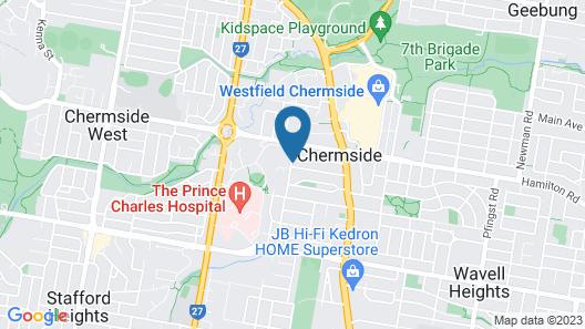 Chermside Court Motel Map