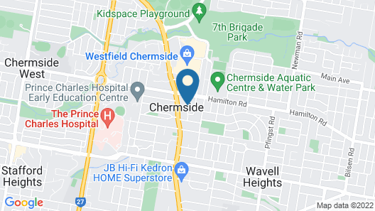 The Chermside Apartments Map